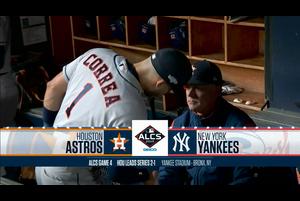 【スポーツナビMLB】10/18(日本時間)ヤンキースの本拠地ヤンキー・スタジアムで行われたアストロズ戦(リーグ優勝決定シリーズ第4戦)のダイジェスト。