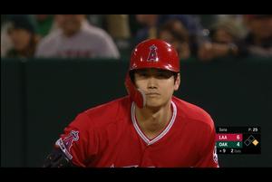 【MLB】9回表 大谷翔平 第5打席は勝ち越し2点タイムリー! 5/29 アスレチックスvs.エンゼルス