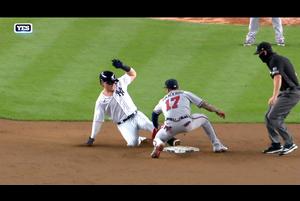 【MLB】5回裏 ボイトもタイムリーヒットを放ち4点差へ 8/13 ブレーブスvs.ヤンキース