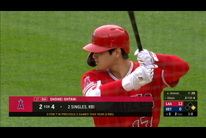 【MLB】大谷翔平 ダイジェスト 5/10 タイガースvs.エンゼルス