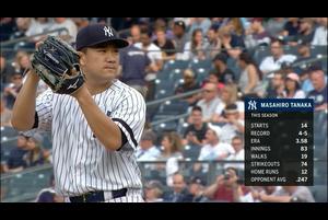 【MLB】田中将大完封勝利! 投球ダイジェスト 6/18 ヤンキースvs.レイズ