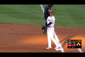【スポーツナビMLB】エンゼルスの大谷翔平は、現地時間8月11日のアスレチックス戦の第1打席で四球を選んで出塁した。