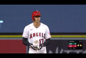 【スポーツナビMLB】エンゼルスの大谷翔平は現地時間8月10日のアスレチックス戦に5番・DHで先発出場。四球、ショートゴロ、ツーベースヒット、2ランホームラン、ファーストゴロの4打数2安打1本塁打2打点1四球だった。