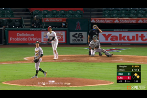 【MLB】6回裏 大谷の第4打席はレフトへのフライに倒れる 8/12 エンゼルスvs.アスレチックス