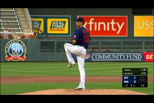 【MLB】2回表 前田健太 2つの三振を奪う 9/6 ツインズvs.タイガース