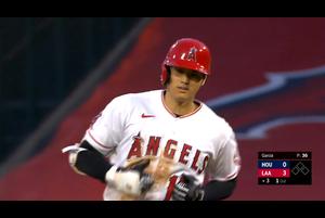 【MLB】3回裏 大谷の第2打席はレフトフライ 9/5 エンゼルスvs.アストロズ