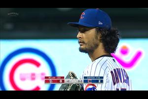 【MLB】2回裏 ダルビッシュ有 この回も三者凡退 9/5 カブスvs.カージナルス