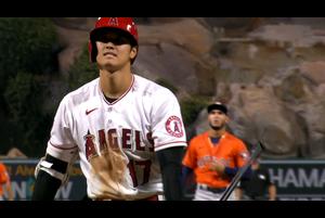 【MLB】5回裏 大谷の第3打席は空振りの三振 9/5 エンゼルスvs.アストロズ