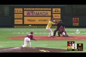 【8回裏】イーグルス・鈴木翔 プロ初奪三振を奪う! 2020/9/18 H-E