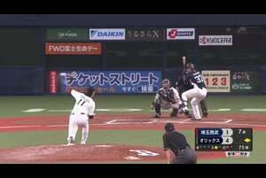 【7回表】バファローズ・山﨑福 7回76球1失点の好投を見せる! 2020/9/19 B-L