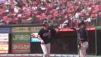 【1回裏】イーグルス・田中が右中間の一番深い所へ先頭打者ホームランを放ち先制! 2020/9/22 E-M