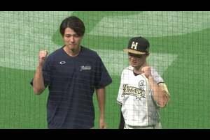 ファイターズ・西川選手・上沢投手ヒーローインタビュー 9/15 F-H