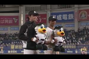 マリーンズ・二木投手・福田選手ヒーローインタビュー 9/25 M-H
