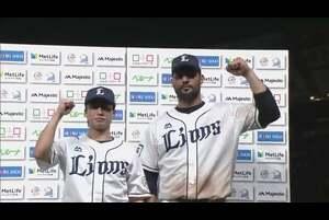 ライオンズ・メヒア選手・森脇投手ヒーローインタビュー 9/25 L-E