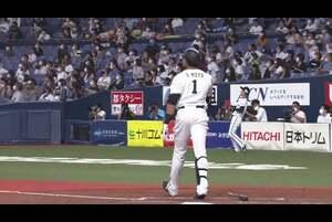 4回裏 1アウトランナー満塁の場面、打席には オリックス・モヤ。北海道日本ハム・マルティネスが投じたインコース高めの球を豪快に引っ張り、その打球はスタンド上段に突き刺さる特大満塁ホームランに! オリックスはこの一発で一気に点差を広げた! 2020/9/25 オリックス・バファローズ 対 北海道日本ハムファイターズ