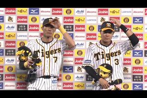阪神vs中日 2020/09/29 ヒーローインタビュー