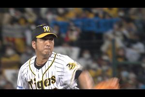 藤川 最後のマウンド!! 坂本と真剣勝負で空振り三振!!!!