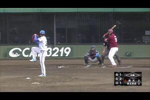 【イースタン・リーグ】ライトゴロキムラ!西武・木村選手の強肩でアウト!!