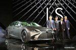 新型レクサスLS 世界初お披露目  NEW LEXUS LS Unveil