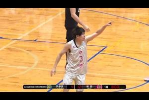 新生!?秋田ノーザンハピネッツ 3ポイント8本/1Q(プレシーズンゲーム2020)