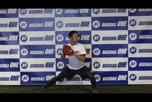 【野球練習メニュー】体の開きを抑える練習方法