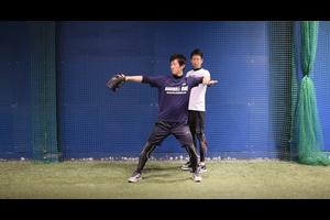 【野球練習メニュー】肘の高さを覚えるための練習方法