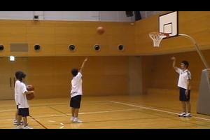 【バスケ練習メニュー】片手シューティング