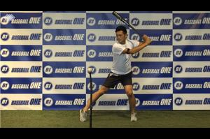 【野球練習メニュー】前足の膝が開かないようにするための練習方法