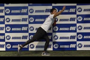 【野球練習メニュー】リリースポイントでの下半身の形を覚える練習方法