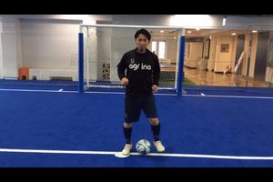 【サッカー練習メニュー】ボールを運ぶ/ドリブル/ボールフィーリング