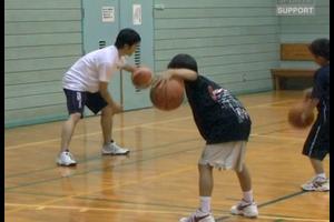 【バスケ練習メニュー】振り子ドリブル