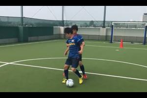 【サッカー練習メニュー】ドリブルスクリーン