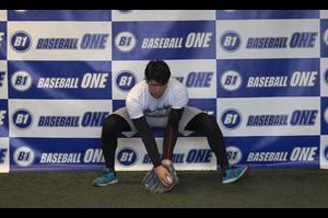 【野球練習メニュー】グローブを広げて使う練習方法