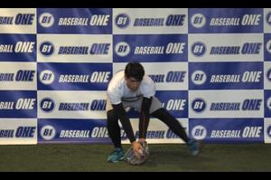 【野球練習メニュー】ゴロ捕球の動きを覚える練習方法