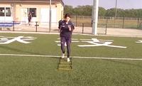 【サッカー練習メニュー】ラダートレーニング初級編ー1