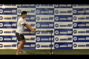 【野球練習メニュー】ヘッドを返す位置を確認するための練習方法