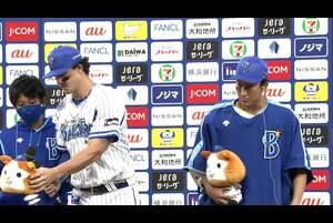 10/4【DeNA vs 中日】ヒーローインタビュー