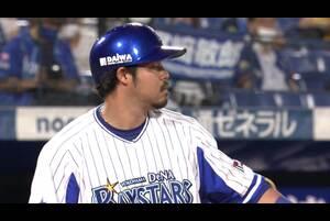 8回裏、宮崎選手の9号ソロで追いすがる!