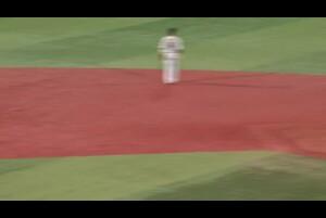 3回裏、伊藤光選手が見事な右打ち!スタンディングスリーで勝ち越し!