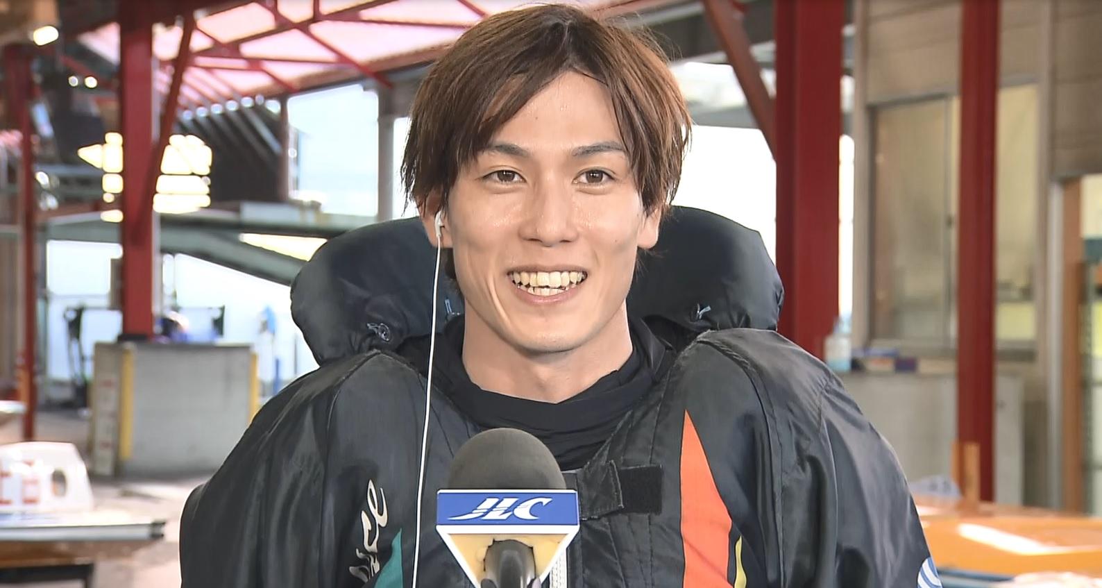 永井彪也 ヤングダービーへの優先出場権獲得! GⅢイースタンヤング優勝インタビュー|ボートレース公式
