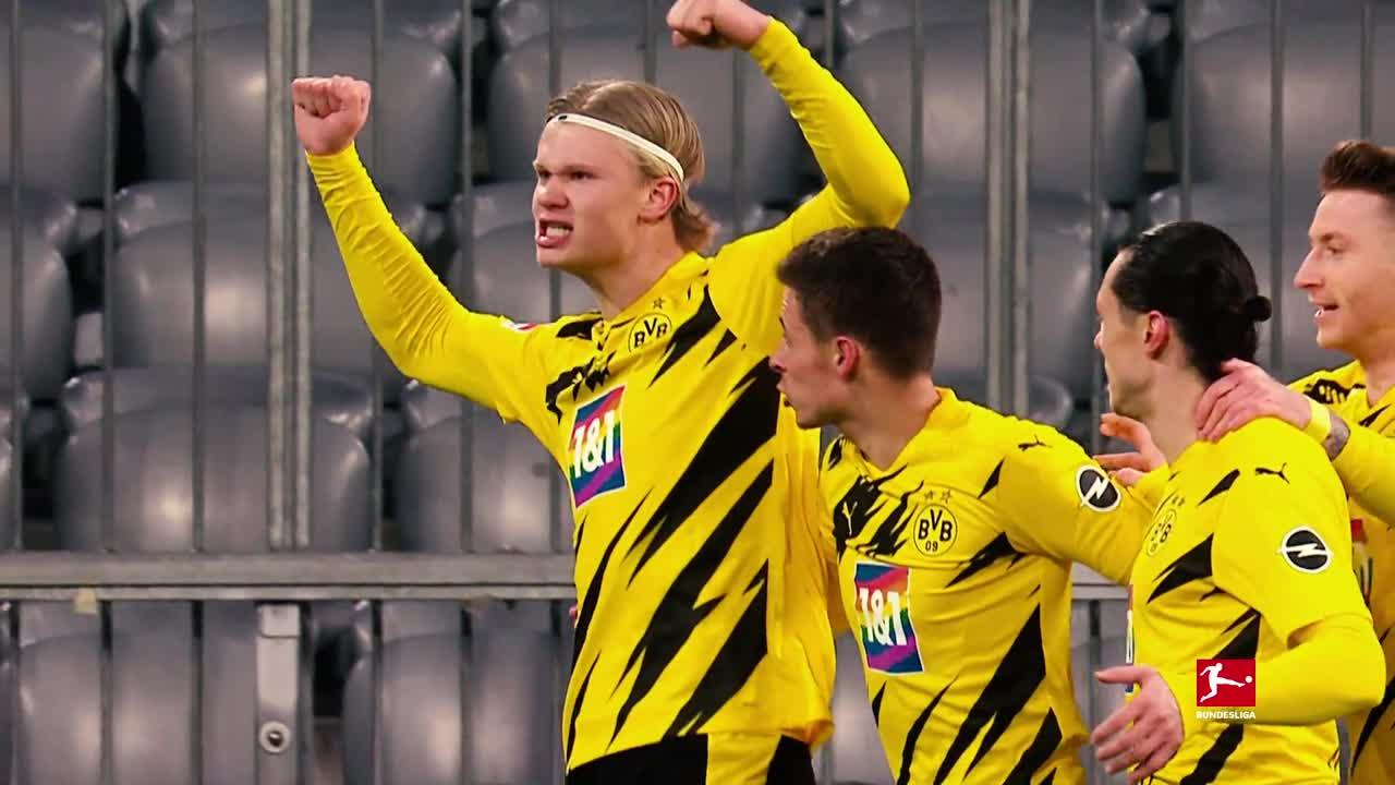ドルトムント、ハーランドがブンデスリーガで挙げた34ゴールを一挙公開
