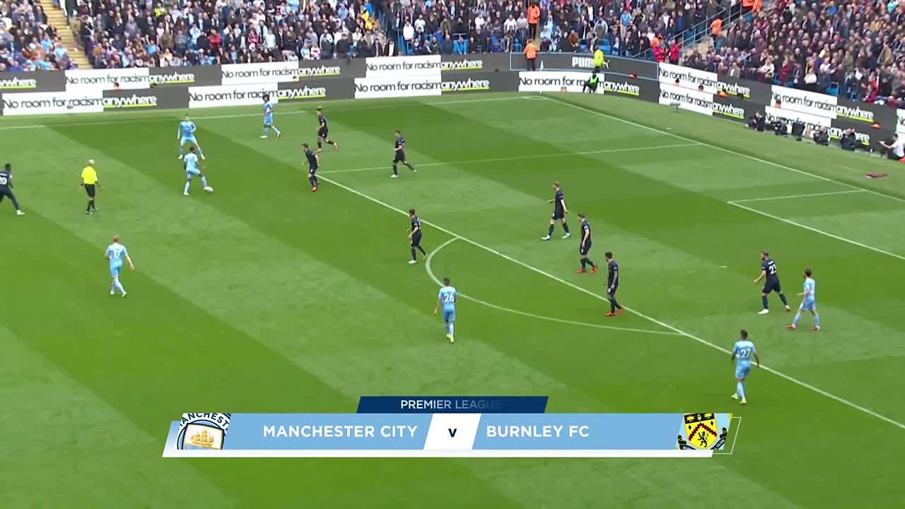 マンチェスター・シティ vs バーンリー|PL第8節ハイライト