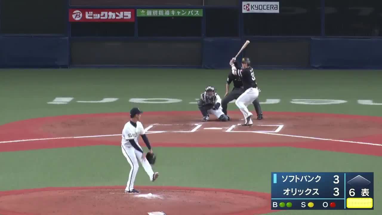 【ウエスタン・リーグ】打撃好調!ソフトバンク・増田のソロホームラン!