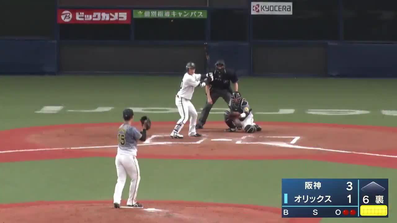 【ウエスタン・リーグ】オリックス・佐野如一のウエスタン第1号ホームラン!!