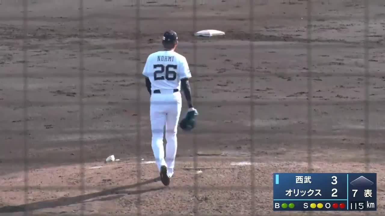 【球春みやざき】オリックス・能見 今季、初の対外試合で好投!