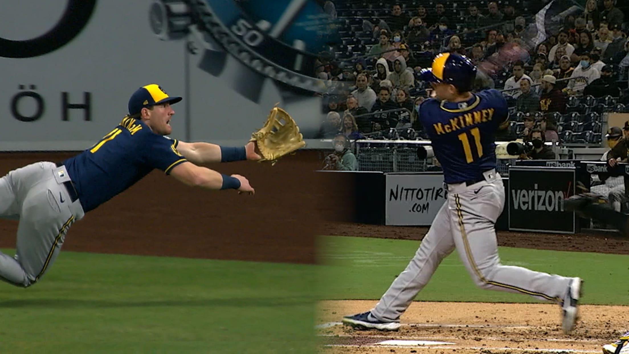【MLB】ビリー・マッキニー 攻守で活躍し勝利に貢献 vs.パドレス 4.21