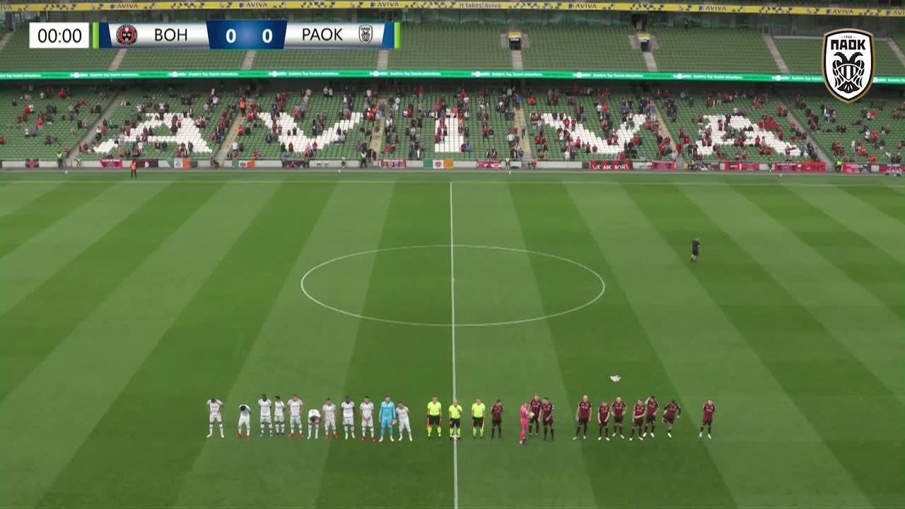 香川が先発!PAOK vs ボヘミアンのハイライト|カンファレンスリーグ予選3回戦1st leg