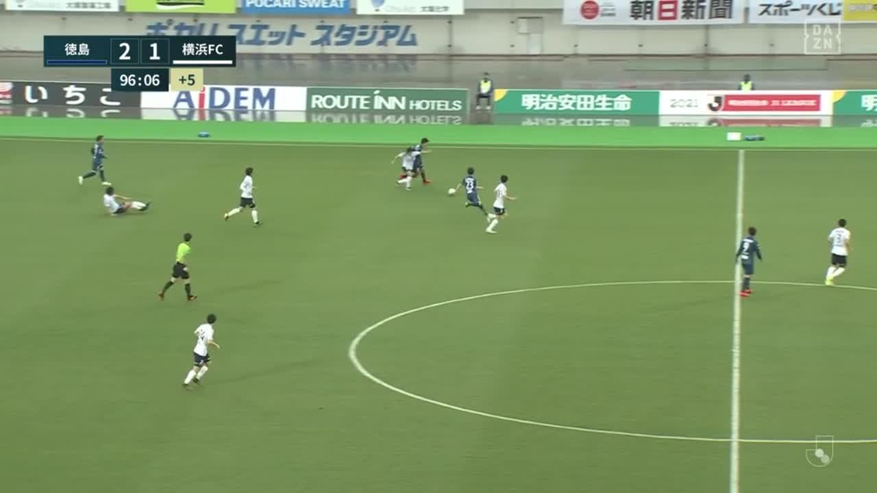徳島ヴォルティス、悲願のJ1ホーム初勝利を達成!【第6節】徳島 vs 横浜FC