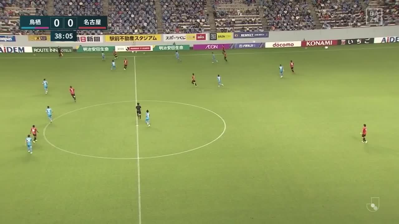名古屋、前田直輝のラストパスが相手のオウンゴールを誘い先制!【第20節】鳥栖 vs 名古屋