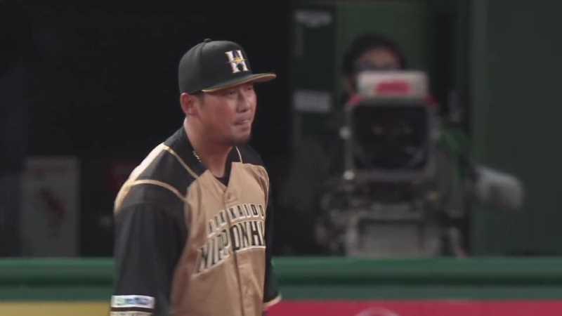 【6回裏】打球に飛びついた!! ファイターズ・中田のファインプレー!! 2021/4/13 L-F